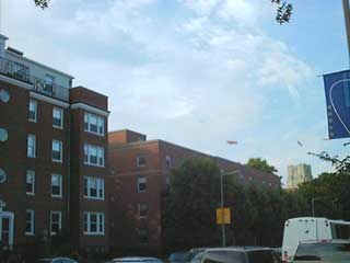 Blimp over Boston