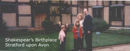 1999, London, Stratford upon Avon
